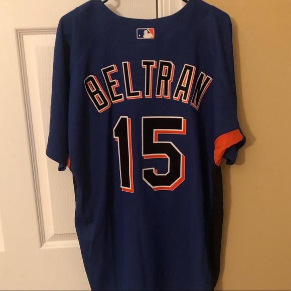 Carlos Beltran New York Mets Baseball Jersey